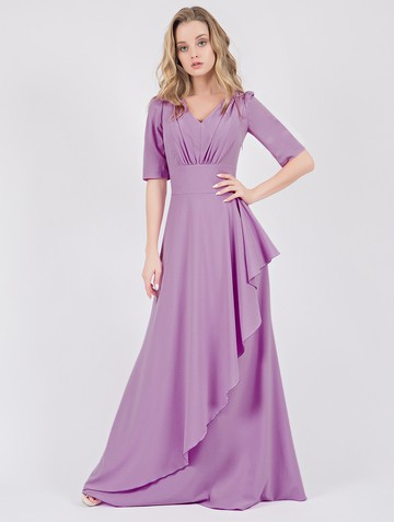 Платье atony, цвет фиалковый