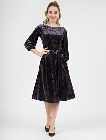 Платье alfira, цвет серый