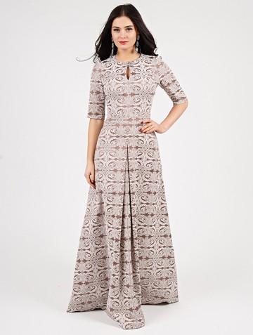 Платье peretta, цвет кофе с молоком