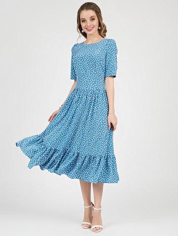Платье tramby, цвет голубой