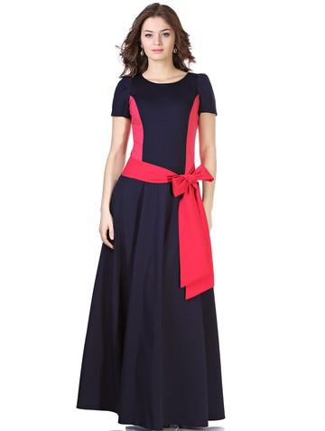 Платье keit, цвет сине-коралловый
