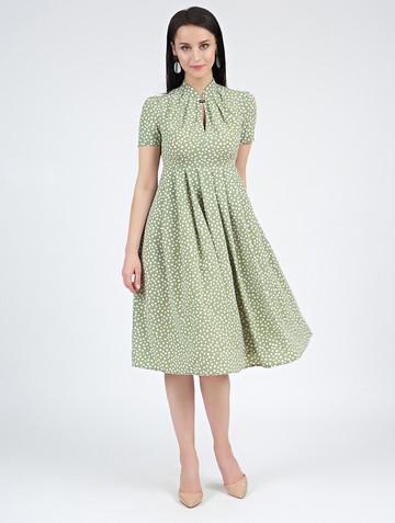 Платье irna, цвет зеленый