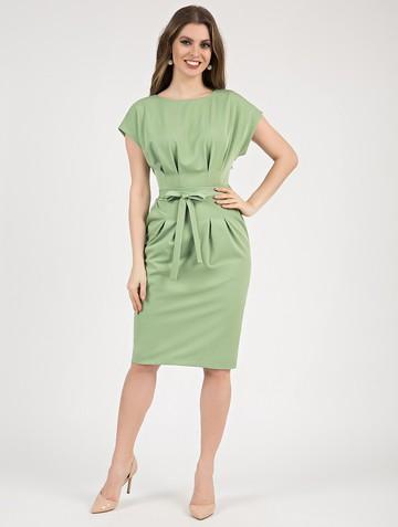 Платье elena, цвет светло-зеленый