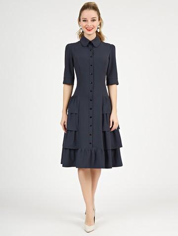 Платье danielle, цвет серый