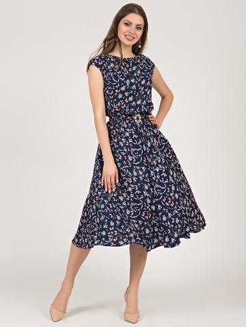 Платье vitalina, цвет индиго