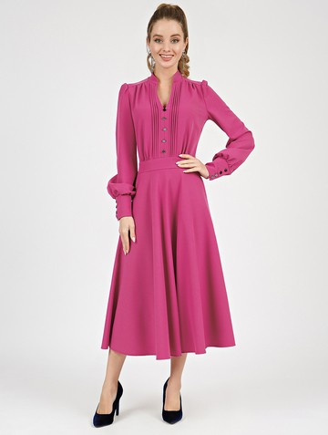 Платье liann, цвет фуксия