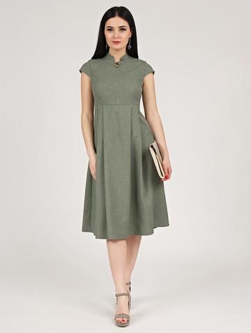 Платье maru, цвет зеленый