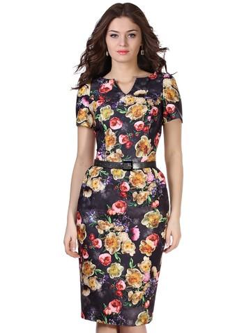 Платье tina, цвет антрацитовый