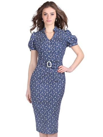 Платье hloia, цвет синий