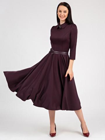 Платье macgery, цвет бордовый