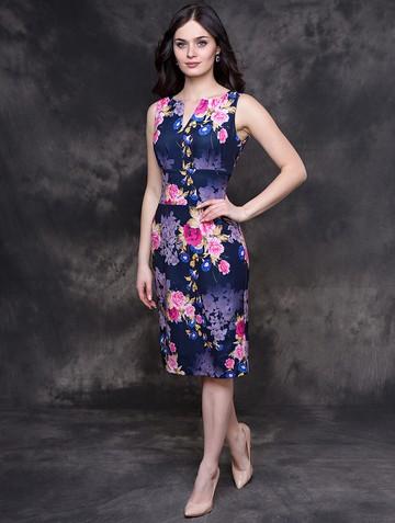 Платье issol, цвет темно-синий