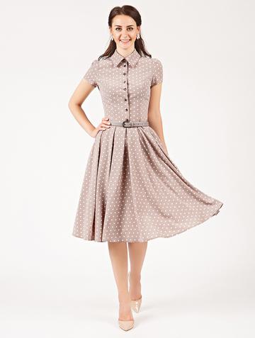 Платье trisha, цвет капучино