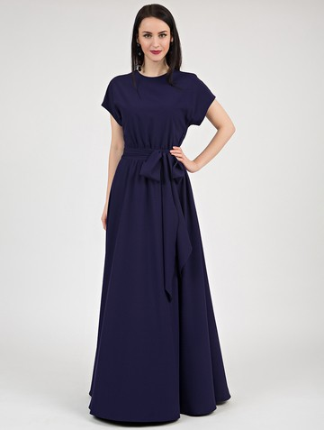 Платье kalma, цвет темно-синий