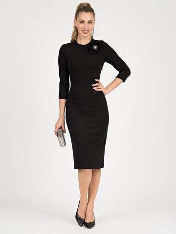 Платье ponty, цвет черный