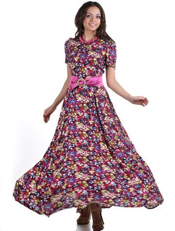 Платье astra, цвет бордовый