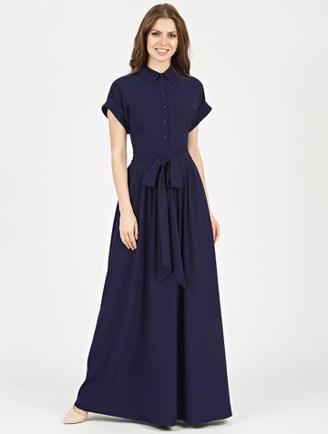 Платье rikarda, цвет темно-синий