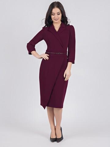 Платье rozanna, цвет сливовый