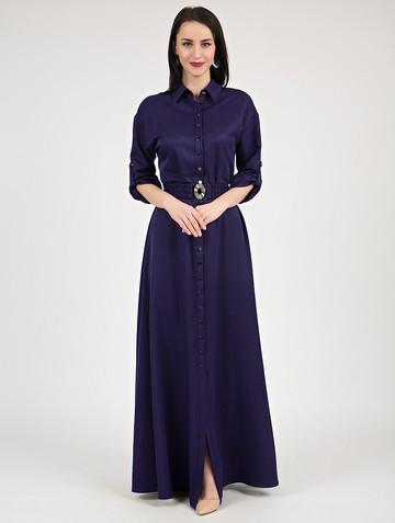 Платье inspira, цвет темно-синий