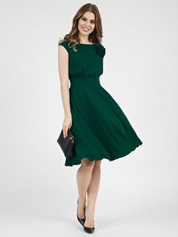 Платье beladonna, цвет зеленый
