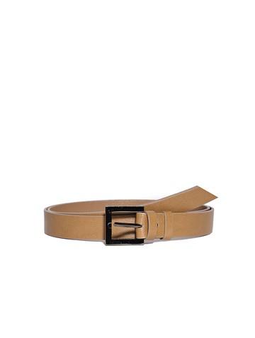 Ремень Rm-016, цвет коричнево-бежевый