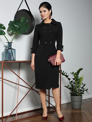 Платье rory, цвет черный