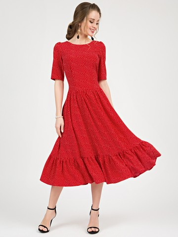Платье tramby, цвет красный