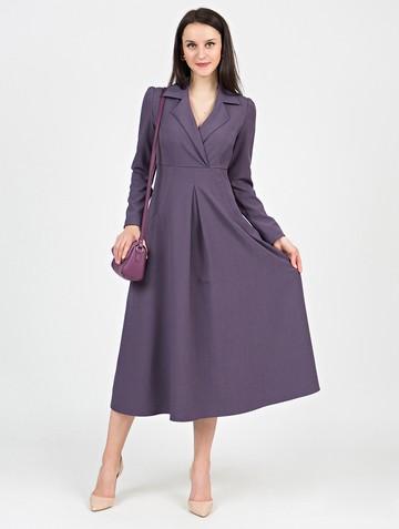 Платье estel, цвет лиловый