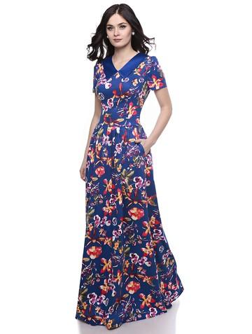Платье vlasa, цвет синий