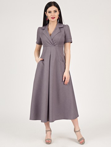 Платье lourdes, цвет лиловый