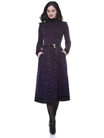 Платье mirano, цвет фиолетово-черный