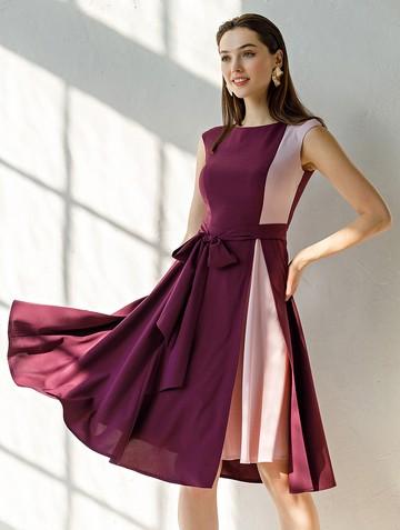 Платье rashy, цвет сливово-розовый