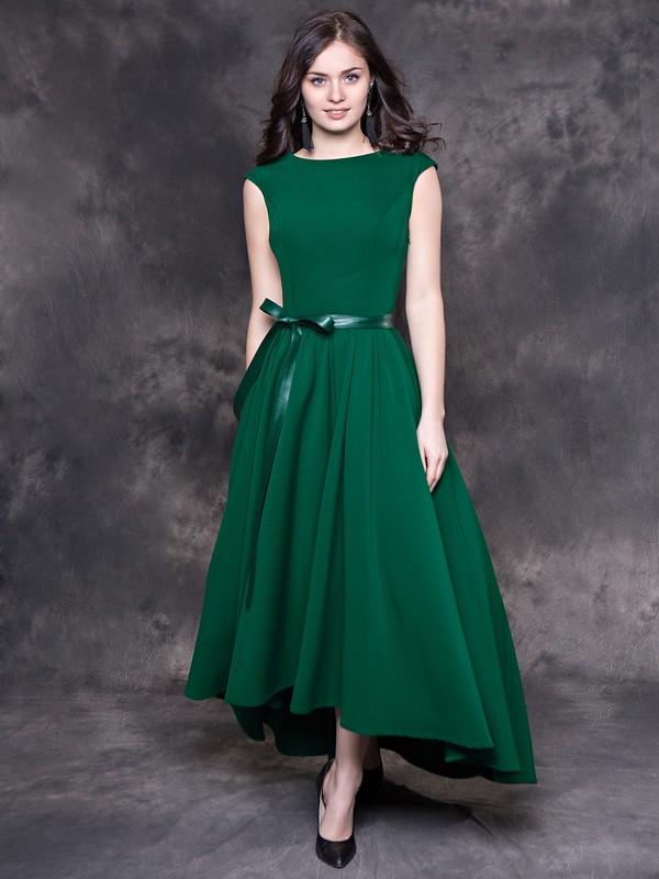 Зеленые платья фото моделей