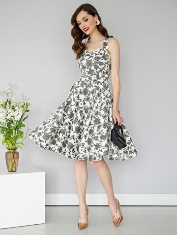 Платье adella, цвет молочный