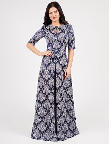 Платье peretta, цвет темно-синий
