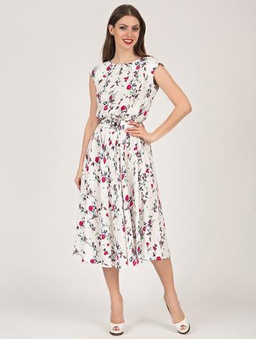 Платье vitalina, цвет молочный