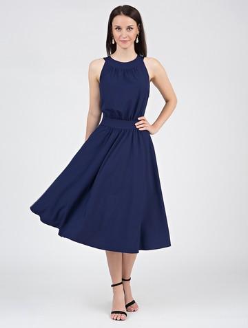 Платье taura, цвет чернильный