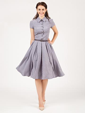 Платье trisha, цвет серо-лиловый