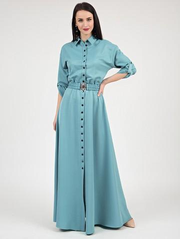 Платье inspira, цвет мятный
