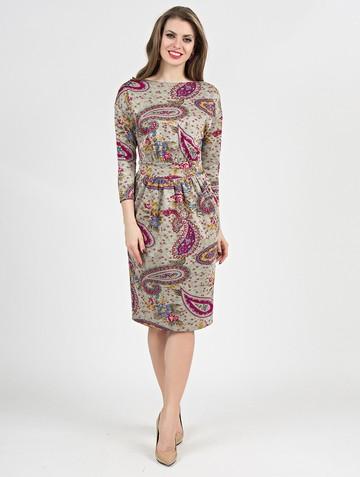 Платье dilara, цвет песочный