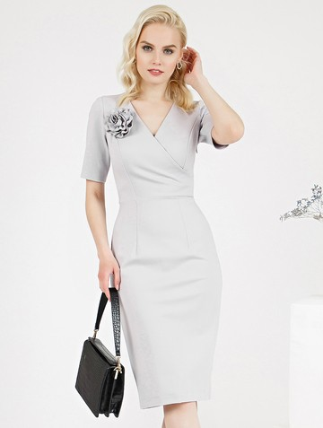 Платье mimy, цвет жемчужный