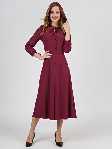 Платье alana, цвет брусничный
