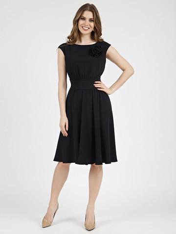 Платье beladonna, цвет черный