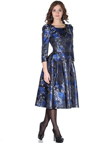 Платье matilda, цвет черно-синий