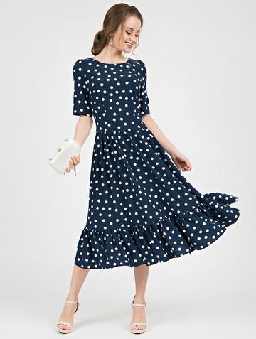 Платье tramby, цвет темно-синий