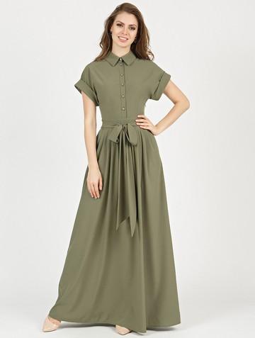 Платье rikarda, цвет хаки