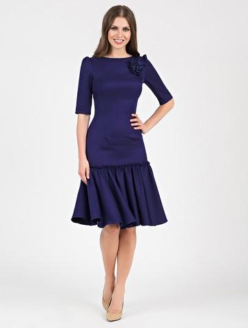 Платье kiello, цвет темно-синий