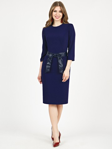 Платье aderia, цвет темно-синий