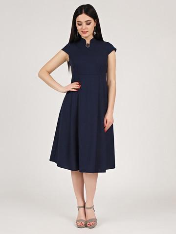 Платье maru, цвет темно-синий