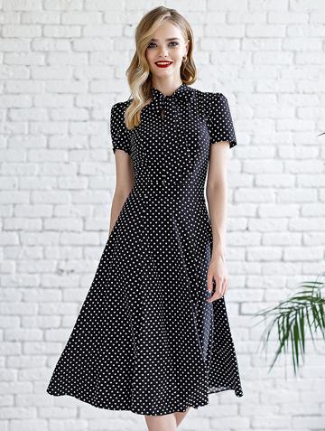 Платье donaldina, цвет черный