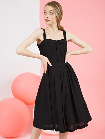 Платье peppy, цвет черный